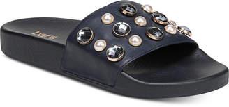 Bar III Sara Pool Slides, Created for Macy's Women's Shoes