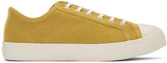 YMC Yellow Suede Wing Tip Sneakers