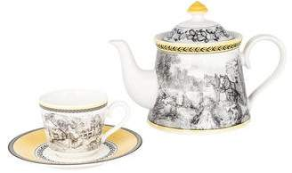 Villeroy & Boch 7-Piece Audun Ferme Tea Set