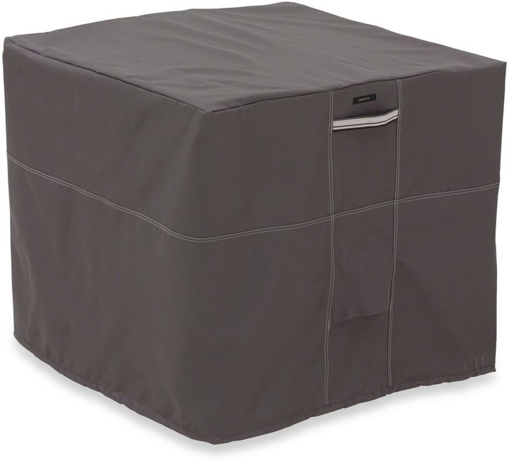 Classic Accessories® Ravenna Square Air Conditioner Cover in Dark Taupe