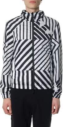 Emporio Armani Black, White & Blue Reversible Jacket