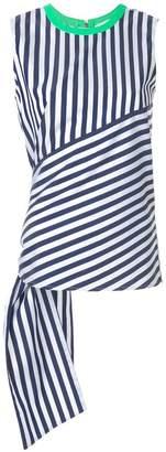 CK Calvin Klein bold stripe sleeveless top