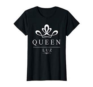 Luz Womens Queen Crown t-shirt for women