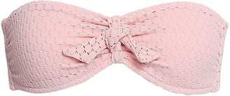 Melissa Odabash India Knotted Crocheted Bandeau Bikini Top