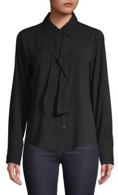 Calvin Klein Ruffle-Trimmed Shirt