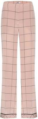 Valentino Silk printed trousers