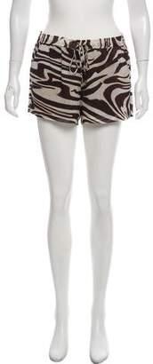 MICHAEL Michael Kors Mid-Rise Mini Shorts