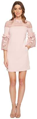 Ted Baker Lucila Lace Panel Bell Sleeve Tunic Women's Dress