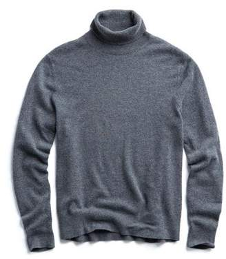 Todd Snyder Cashmere Turtleneck in Charcoal Grey