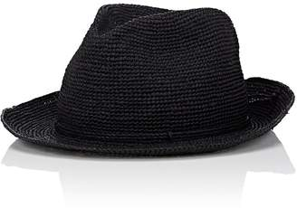 Kaminski Men's Rollable Raffia Fedora