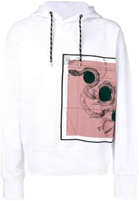 Just Cavalli snake print hoodie