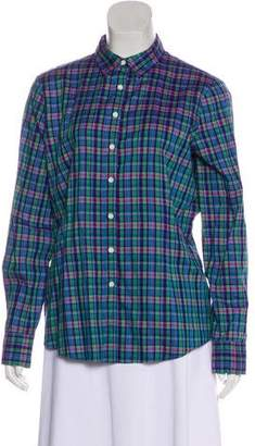 Brooks Brothers Long Sleeve Button-Up Blouse