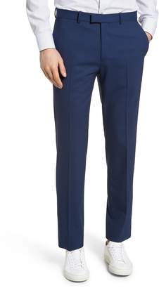 Theory Marlo Flat Front Stretch Wool Pants