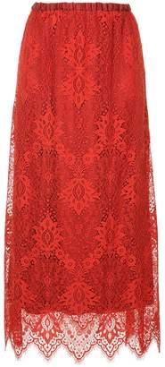 Aula embroidered skirt