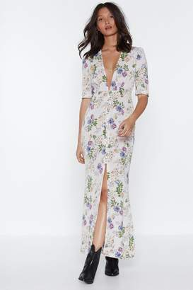 Nasty Gal Wallflower Floral Dress