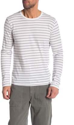 Save Khaki Long Sleeve Stripe Surf Tee