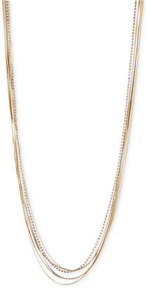 lonna & lilly Iona & lilly Gold- & Silver-Tone Chain Necklace