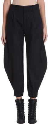 Chloé Black Silk Trousers