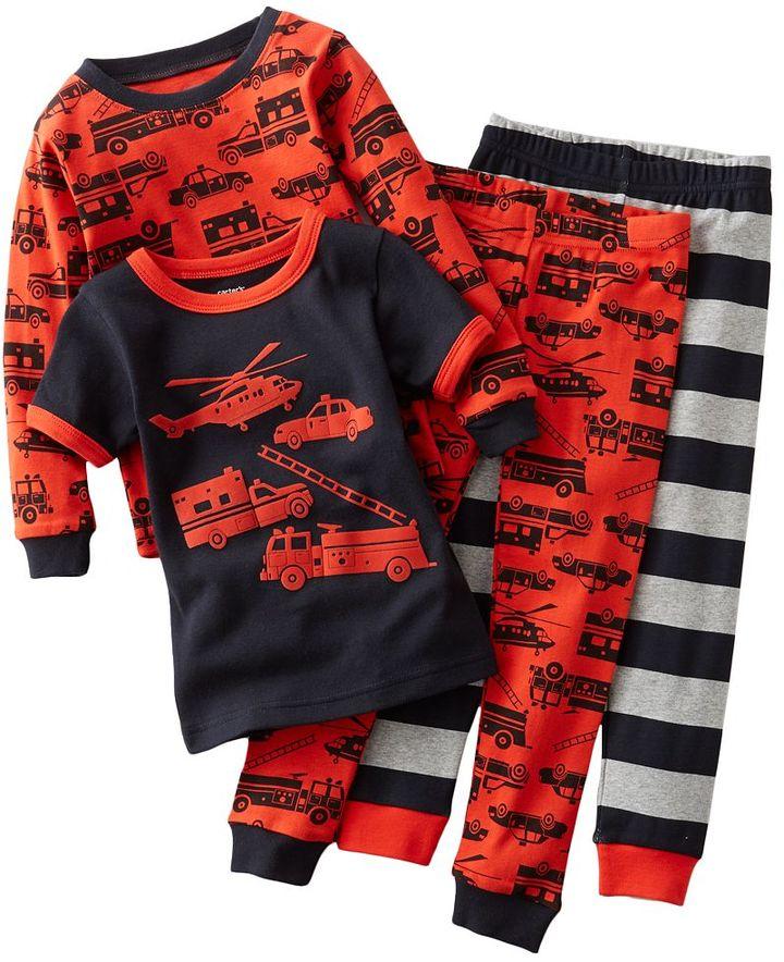 Carter's emergency vehicles pajama set - toddler