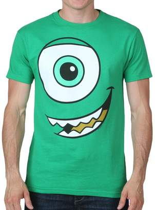 Disney Monsters Inc Mike Wazowski Big Face T-shirt (XXL, )