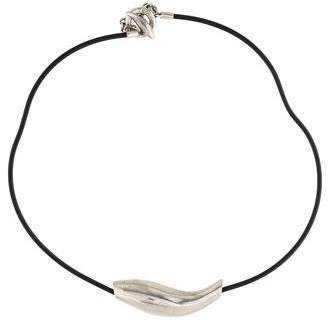 Tiffany & Co. Frank Gehry Fish Choker Necklace