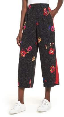 BP Side Stripe Floral Print Pants