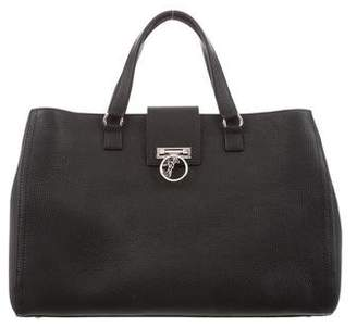 Versace Medusa Leather Tote w/ Tags