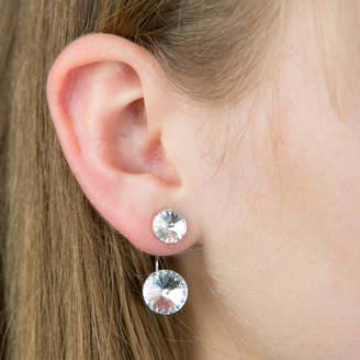 Swarovski Lovethelinks Silver And Two Way Earrings