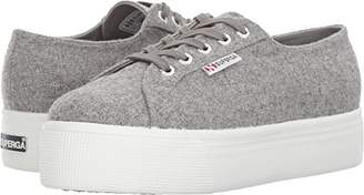 Superga Women's 2790 Polywool Platform Fashion Sneaker