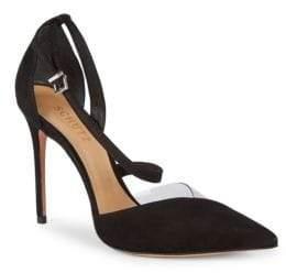 Schutz Nissy Suede d'Orsay Stiletto Sandals