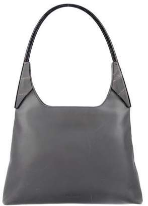 Prada Leather Top Handle Tote