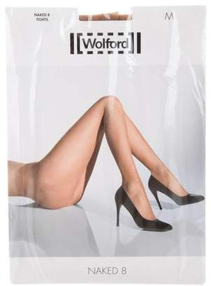 Wolford Naked 8 Sheer Tights w/ Tags