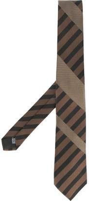 Cerruti diagonal stripe tie