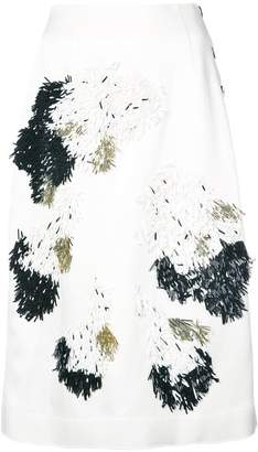 Derek Lam Embellished Skirt