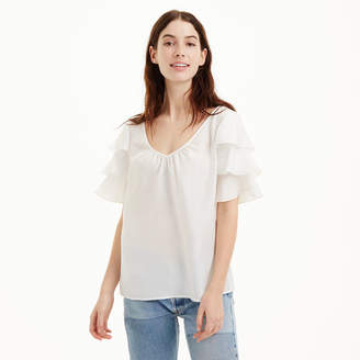 Club Monaco Naveah Silk Top