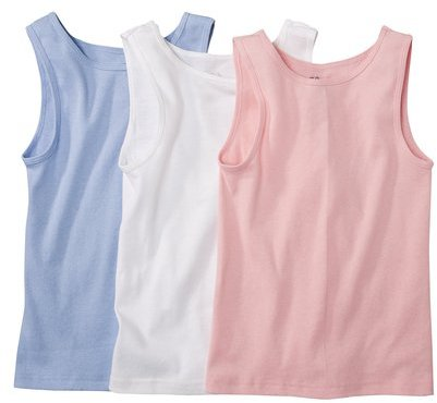 Fruit of the Loom Girls 3-pack Cami Tanks - Assorted Colors