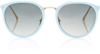 Linda Farrow Butterfly-Frame Acetate Sunglasses