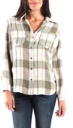 KUT from the Kloth Hannah Button Down Plaid Shirt