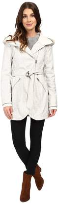 Jessica Simpson Asymmetrical Zip Softshell Jacket Women's Coat