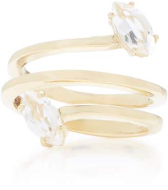 Bea Yuk Mui Bongiasca Gloriosa Lily Glory 9K Gold Spiral Ring