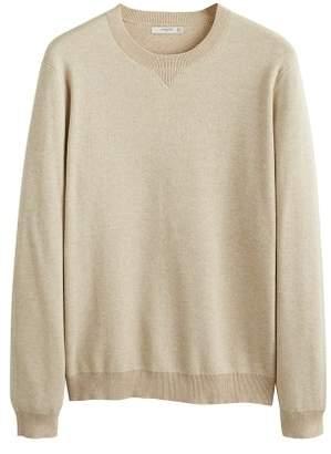 Mango man MANGO MAN Contrasting knit sweater