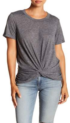 Michael Stars Short Sleeve Knotted Front Tee