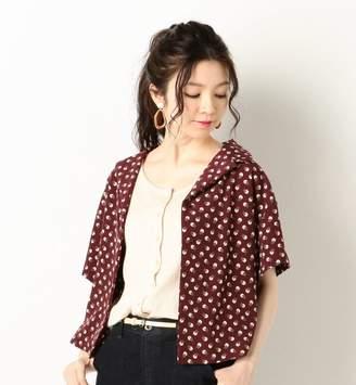 Archives (アルシーヴ) - アルシーヴ 花柄オープンカラー半袖シャツ