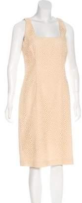 Michael Kors Sleeveless Eyelet Dress