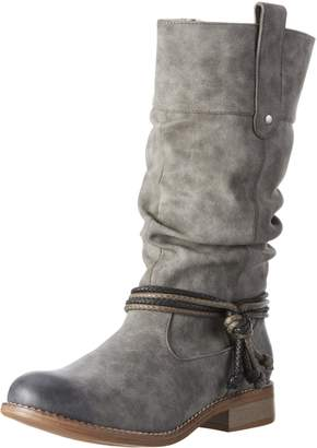 Rieker Ladies Warmlined Calf Length Boots 95679-45 - Synthetic - UK Size 4 - EU Size 37 - US Size 6