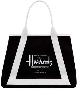 Harrods Anglesey Logo Shoulder Bag