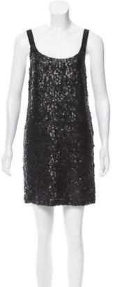 Theory Silk Sequin Dress