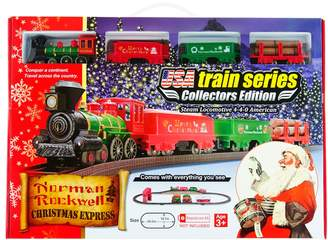 Rockwell Kohl's LEC Norman Christmas Steam Locomotive Train Set