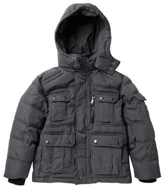 Ben Sherman Bubble Hooded Jacket (Big Boys)