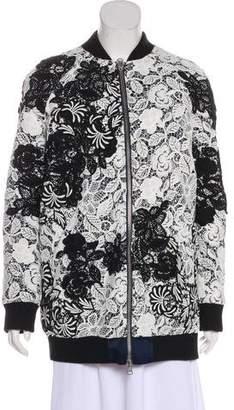 Self-Portrait Oversize Guipure Lace Coat